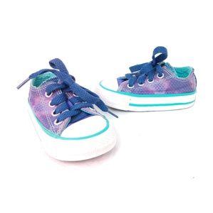 Converse /// Infant Purple Star Pattern All Stars
